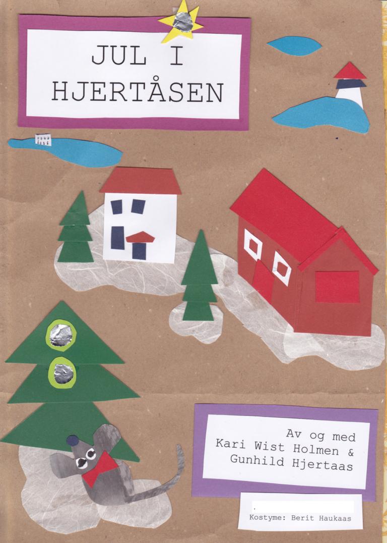 Plakat Jul i hjertåsen