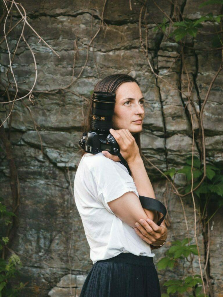 Hilde Mesics Kleven er inbovi sin fotograf i Telemark