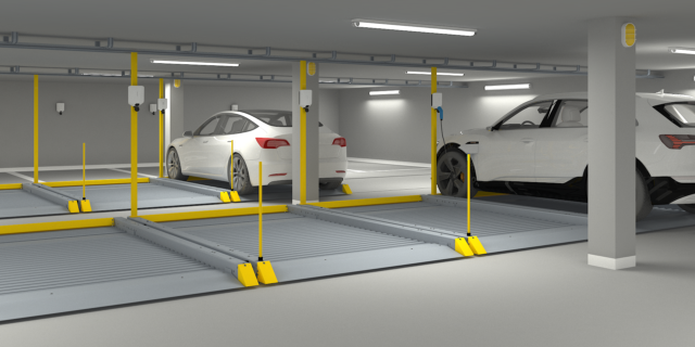 2020 17 Parking Platform with Easee charger 200918