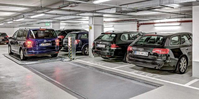 Woehr parkplatte503 carparkingsystem autoparksystem parkingplatform503