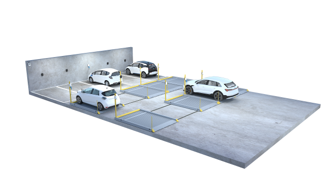 2020 17 Parking Platform 501 with charger 200920