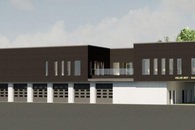 Ambulansestasjon Sarpsborg - SIGN Arkitektur™