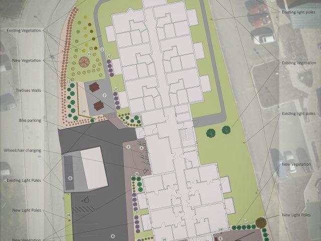 Uteanlegg Vebjørn Tandbergs veg 14 - SIGN Arkitektur™
