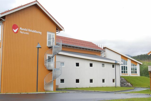Interkommunalt rehabiliteringssenter Høylandet - SIGN Arkitektur™