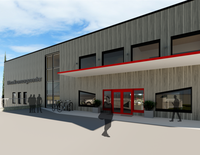 Designkonkurranse Mosvik omsorgssenter - SIGN Arkitektur™