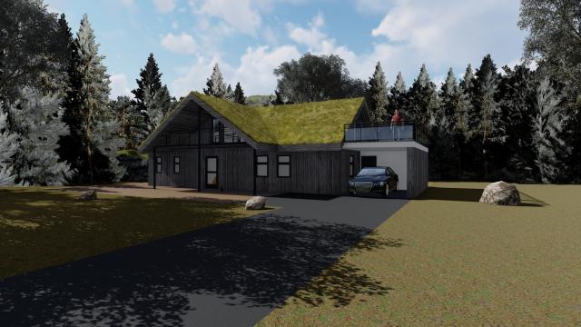 Fjellhytte Grong - SIGN Arkitektur™