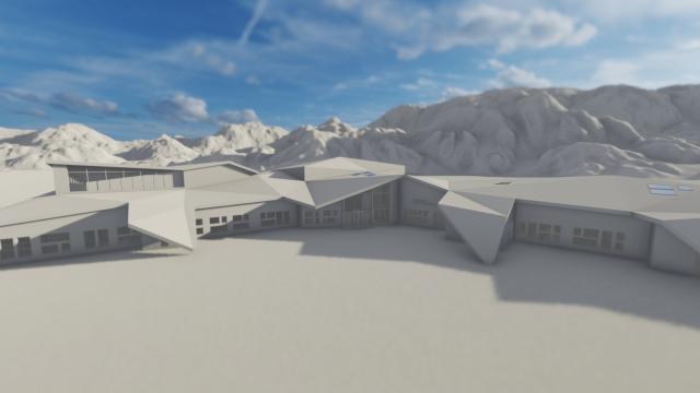 Gryllefjord skole med flerbruks- og svømmehall - SIGN Arkitektur™