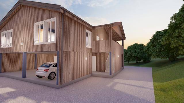 Tremannsbolig Otto Sverdrups veg 9 - SIGN Arkitektur™